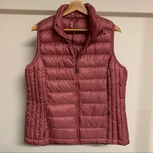 Blush Pink Packable Puffer Vest